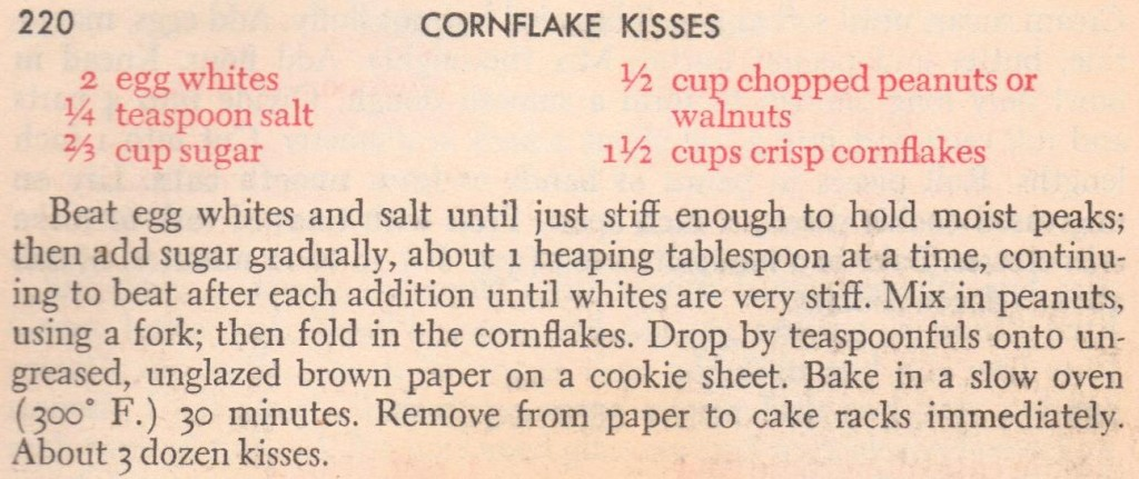 Cornflake Kisses