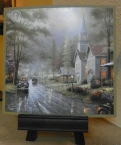Thomas Kinkade church steeple
