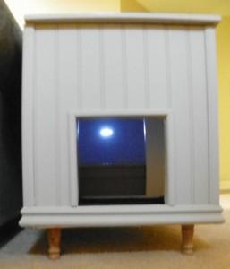 cat litter box door