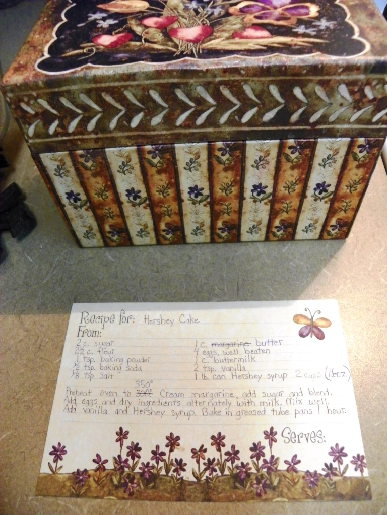 recipe card & box